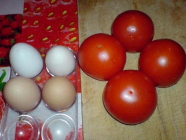 Eier in Tomate - Rezept - Bild Nr. 4