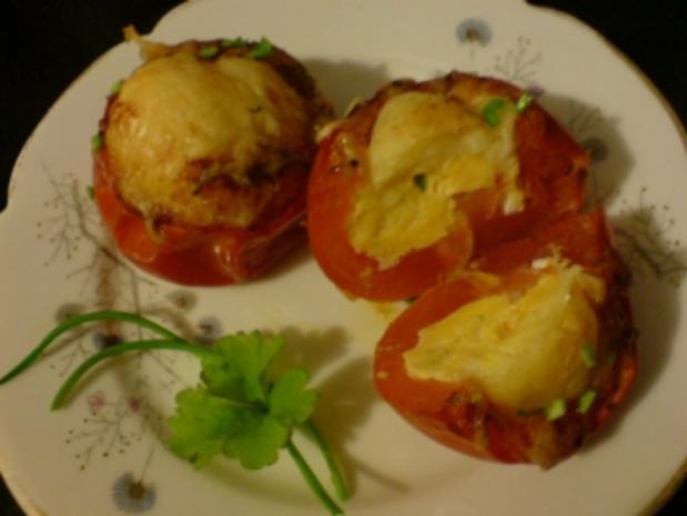 Eier in Tomate - Rezept - Bild Nr. 2