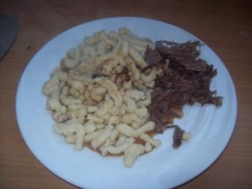 Sauerbraten mit Lebkuchensauce - Rezept