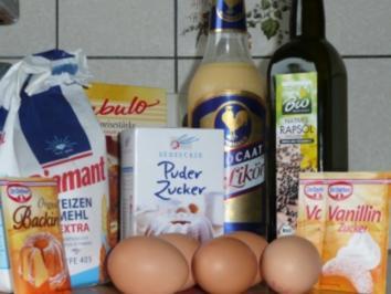 Viel Glueck im neuen Jahr-Kuchen - Rezept