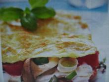 Tomaten- Pilz- Lasagne - Rezept