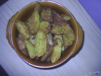 Beilage - Knusper-Kartoffeln aus den Ofen - Rezept