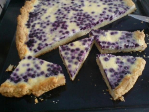 Heidelbeer Saure Sahne Kuchen Rezept Mit Bild Kochbar De