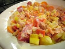 Salate: Fixer Thunfisch-Rohkost Salat - Rezept