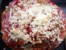 Salami Pizza - Rezept