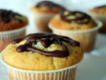 Muffins: Bananen Schoko - Rezept