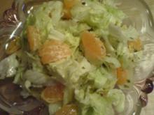 Eisbergsalat mit Mandarinen - Rezept