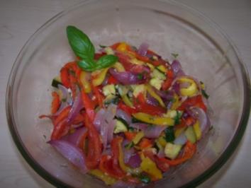 Ratatouille-Salat - Rezept