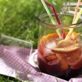 Fruchtbowle - Rezept