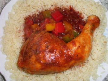 Hühnertopf Ratatouille - Rezept