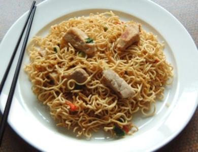 Asiatische Bratnudeln - Rezept