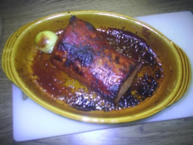 Fleisch - Kasslerbraten mit Honigkruste - Rezept - Bild Nr. 2