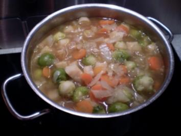 Gemüsetopf -winterlich - Rezept
