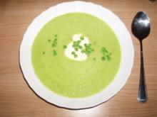 Erbsen-Curry-Suppe - Rezept