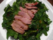 Scharfer Entenbrust-Salat - Rezept