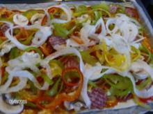 Bunte Spirali-Pizza - Rezept