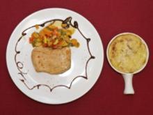 Geflügel aus dem Backofen mit Gemüse und Kartoffeln (Martin Rütter) - Rezept