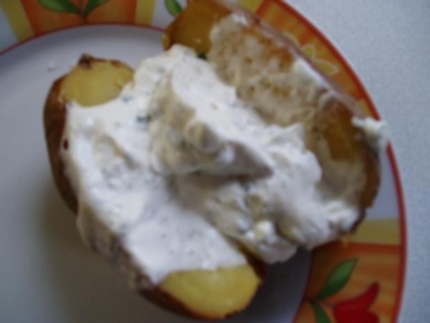 Baked Potato mit Sour Cream - Rezept