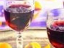 Rote Grütze Tee mit Wodka - Rezept