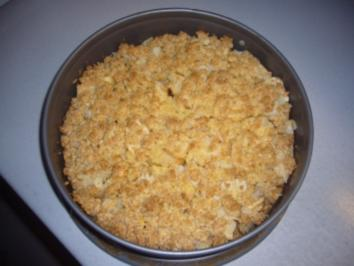 "Kikis Apfel-Streuselkuchen ""light"" - Rezept"