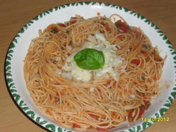 Pasta Pomodoro - Rezept