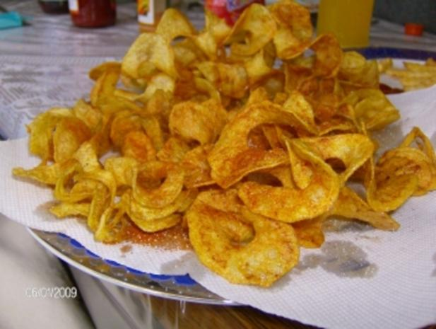 Chipslocken pikant gewürzt (Spiralschneider-Rezept) - Rezept