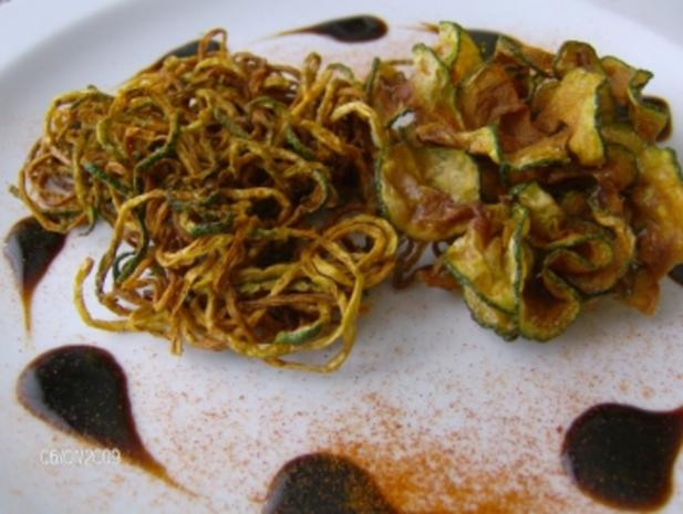 Zucchini - Variationen mit Balsamico (Spiralschneider-Rezept) - Rezept - Bild Nr. 2