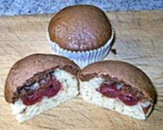 Donauwellen - Muffins - Rezept
