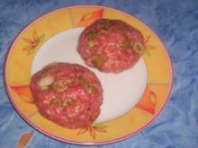 Italienische Kräuterfrikadellen mit Oliven - Rezept