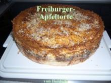 Kuchen: Freiburger Apfelkuchen - Rezept