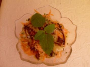 Kohlrabi-Möhren-Salat - Rezept