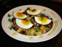 Gemüse-Curry mit wachsweichen Eiern - Rezept