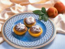 Der Pfirsich von seiner Schokoladenseite - Rezept