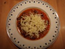Chili con Carne y con Queso - Rezept