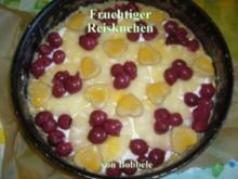 Kuchen: Fruchtiger Reiskuchen - Rezept