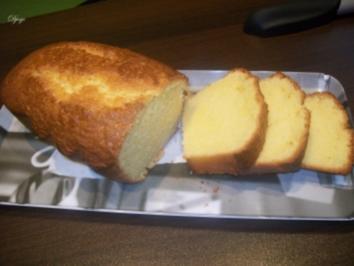 Rezept: Zitronen - Sandkuchen