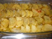 Kartoffel-Zwiebel-Auflauf - Rezept