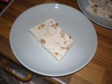 Eis mit gebrannten Mandeln - Rezept