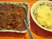 Saure Nierchen mit Kartoffelpüree - Rezept