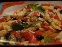 Nudelsalat mit Mortadella - Rezept