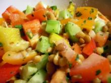 Salate: Knackiger Linsensalat mit Joghurt - Rezept