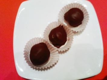 Rezept: Erdnuss-Marzipan Praline