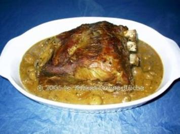 Chilirippchen mit Kartoffelspalten - Rezept
