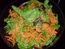 Gemischter Blattsalat - Rezept