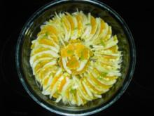 Orangen - Fenchel  - Salat - Rezept