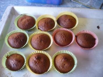 Cappuccino-Kirsch-Muffins - Rezept
