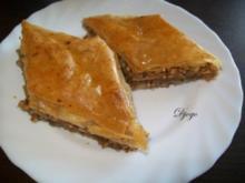 Baklava mit Haselnuss (genaue Beschreibung mit Bild) - Rezept