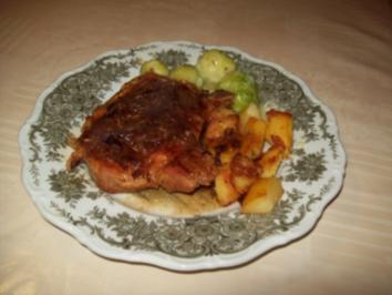 Schweinekotelett in Biersoße - Rezept