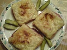 Salami-Toast - Rezept