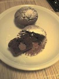 Muffins mit Ueberraschung - Rezept